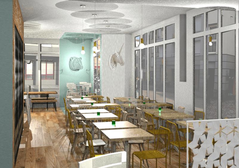 architecte pour realisations restaurant sur clermont ferrand. Black Bedroom Furniture Sets. Home Design Ideas